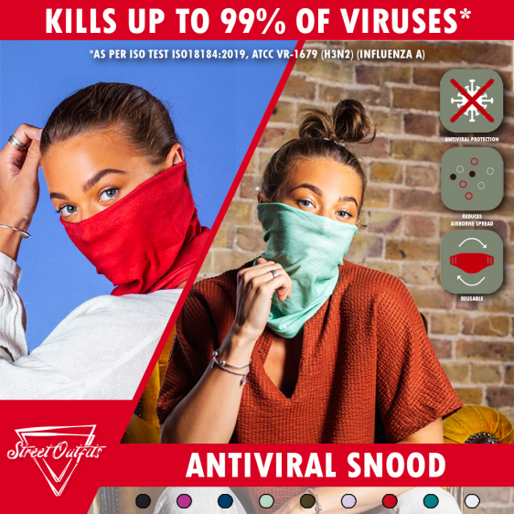 Street Outfits - Antiviral Snood 1